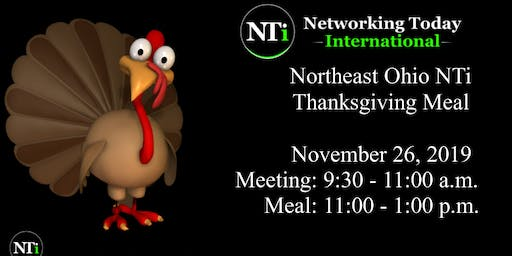 Northeast Ohio NTi Thanksgiving Event