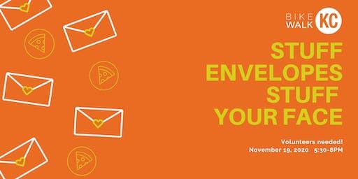 Stuff Envelopes/Stuff Your Face
