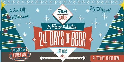 BeerSauce 24 Days of Beer  Advent Calendar Box Pickup