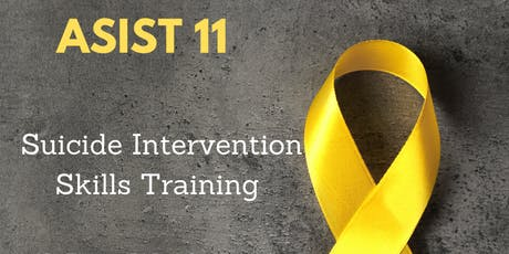 ASIST 11  SUICIDE INTERVENTION SKILLS TRAINING tickets