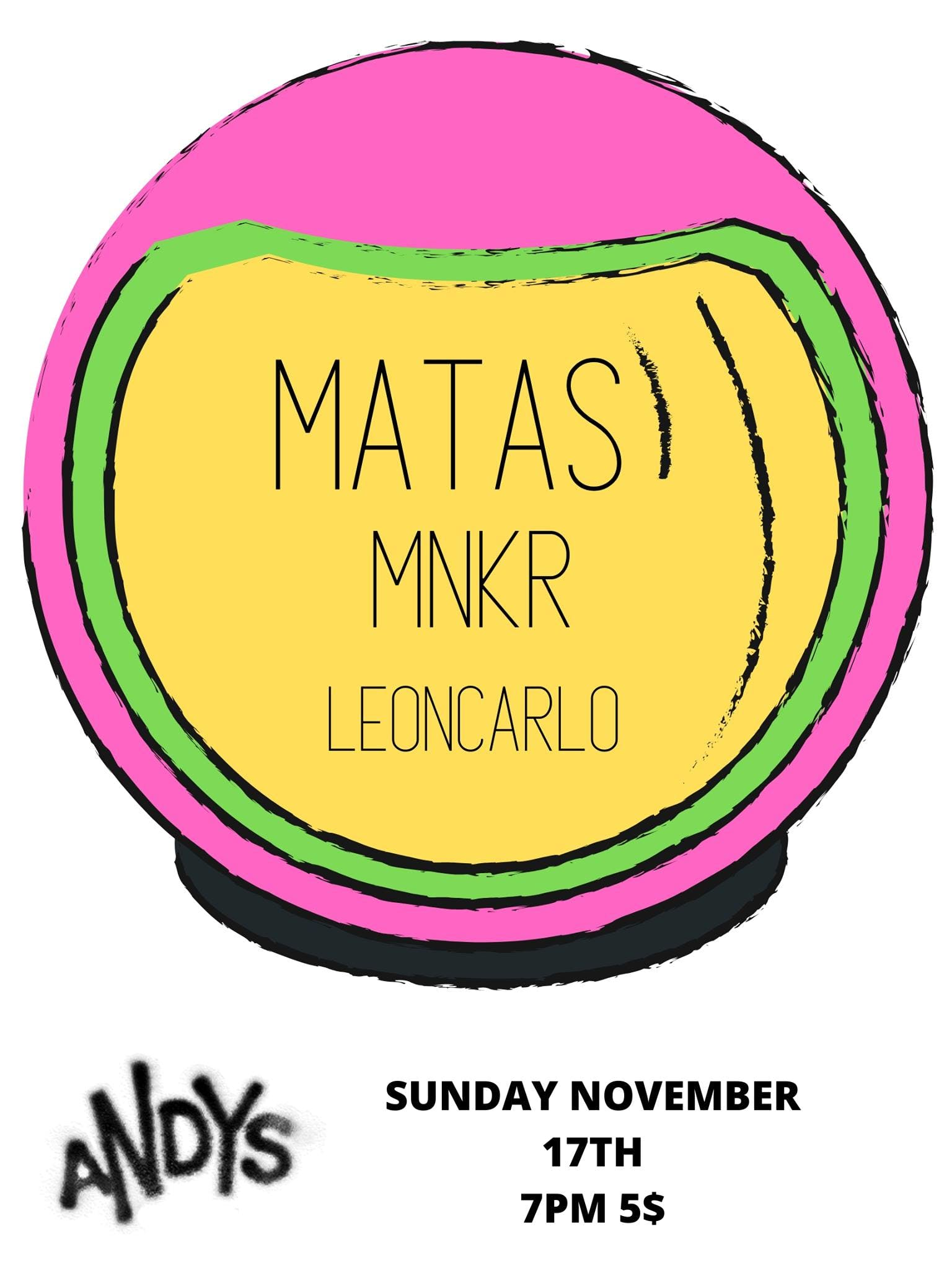 MATAS and friends Early Sunday Show!