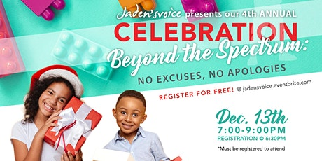 4th Annual Celebration Beyond The Spectrum 2019 tickets