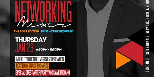 "NETWORKING MIXER   ""BOSS EDITION"""