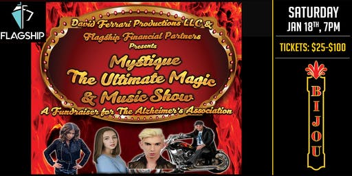 MYSTIQUE - The Ultimate Magic & Music Show