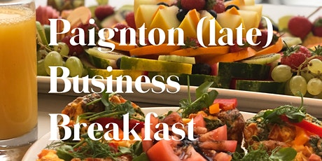 Paignton (LATE) Business Breakfast XMAS SPECIAL tickets