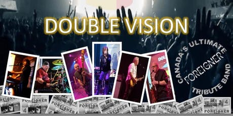 Double Vision Canada's Ultimate Foreigner tribute, On Rock à Buck billets