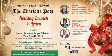 The Charlotte Post Holiday Business Brunch & Learn tickets