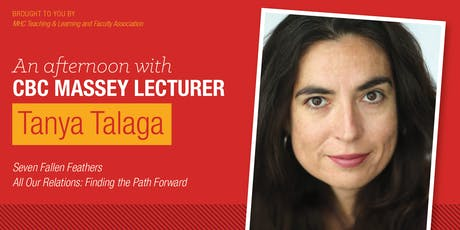 An Afternoon with CBC Massey Lecturer Tanya Talaga tickets
