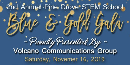 Blue & Gold Gala Presented by Volcano Communications Group