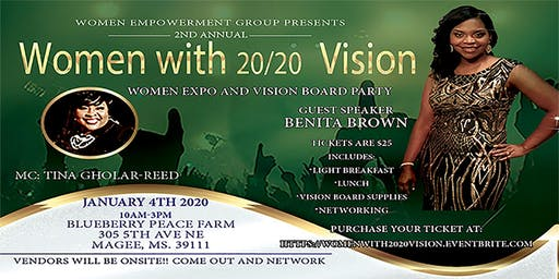 Women with 20/20 Vision