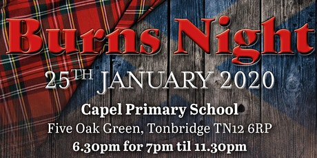 Traditional Burns Night Supper tickets