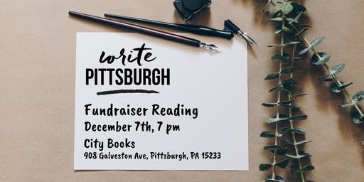Fundraiser Reading for Write Pittsburgh