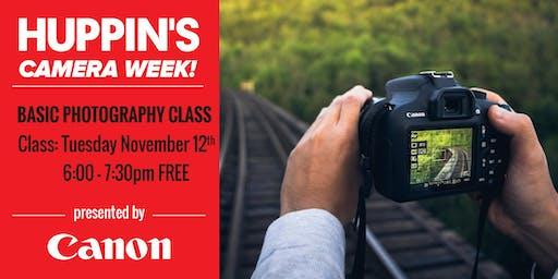 Canon: Basic Photography Class