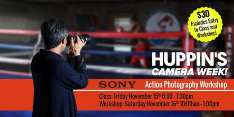 Sony: Sports/Action Class and Workshop tickets