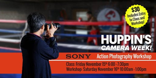 Sony: Sports/Action Class and Workshop
