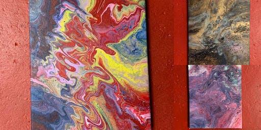 Pour Painting - dirty pour technique