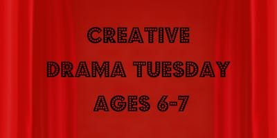 NEW! Creative Drama Tuesday (Ages 6-7)