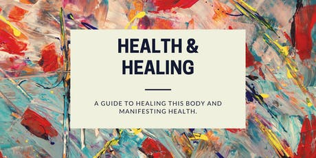 Health & Healing: Natural health--your way. tickets