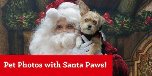 FREE Pet Photos with Santa Paws