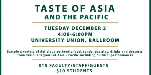 Taste of Asia and the Pacific