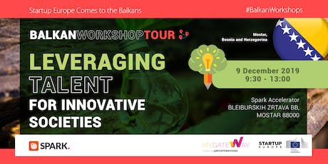 How can we leverage Talent in Innovative Societies? (Mostar, BiH) tickets