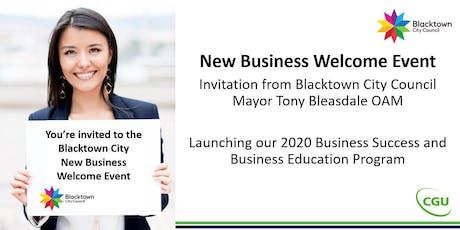 Blacktown New Business Welcome Event tickets