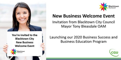 Blacktown New Business Welcome Event