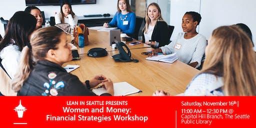 Lean In Seattle   Women and Money: Financial Strategies