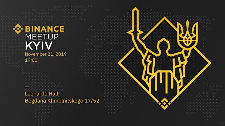 Binance Kyiv Meetup image