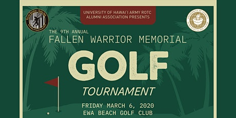 The 9th Annual Fallen Warriors Memorial Golf Tournament tickets