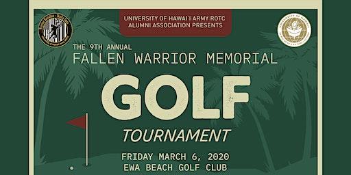 The 9th Annual Fallen Warriors Memorial Golf Tournament
