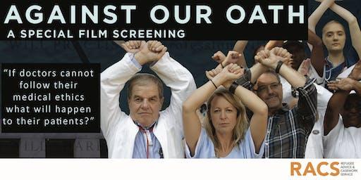 Against Our Oath: Sydney CBD Screening