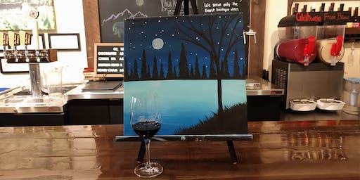 """""""Winter Nights"""" Paint n Sip"""