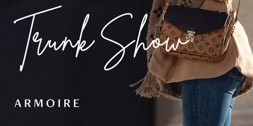 Designer Vintage Accessories and Handbags Trunk Show