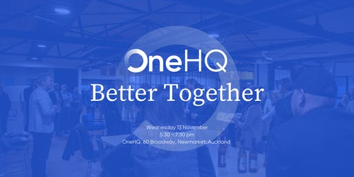 OneHQ Better Together Networking Event