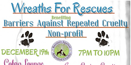 Wreaths For Rescues Benefiting BARC Chicago tickets