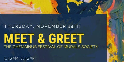 Meet & Greet with the Chemainus Festival of Murals Society