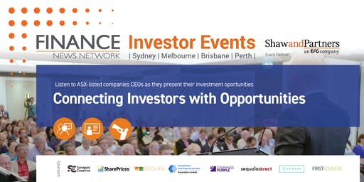 Finance News Network Investor Events - Sydney