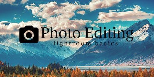 Photo Editing - Lightroom Basics with CIR Chris Ward