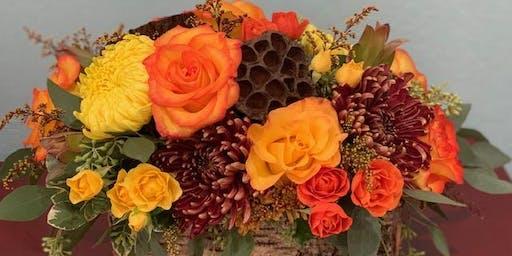 Thanksgiving Floral Centerpiece