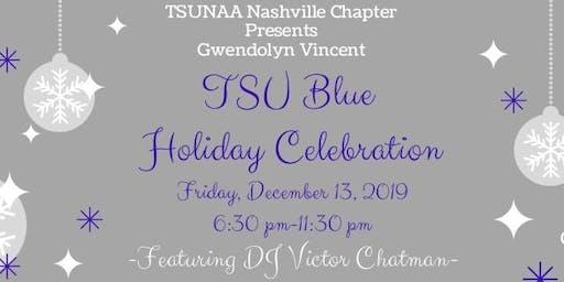TSUNAA Nashville Chapter Gwendolyn Vincent TSU Blue Holiday Celebration