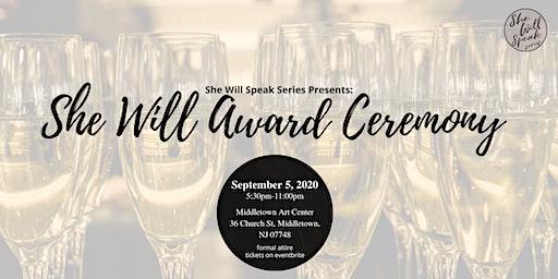 She Will Award Ceremony