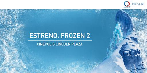 Función de Cine MiGrupoQ - Frozen 2