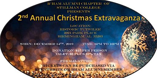B'ham Alumni Chapter  of Stillman College 2nd Annual Christmas Extravaganza