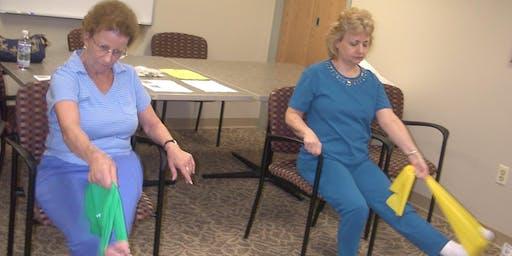 YogaChair Stretch & Relax (8 Classes) with Ann Hyland