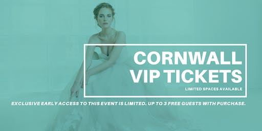 Opportunity Bridal VIP Early Access Cornwall Pop Up Wedding Dress Sale
