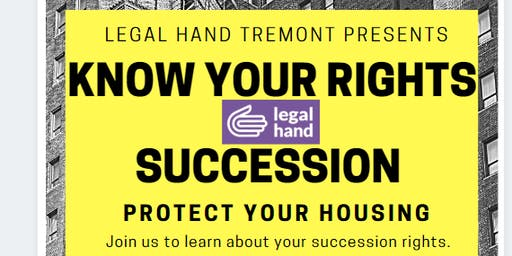 Know Your Rights - Succession Rights - Legal Hand Tremont