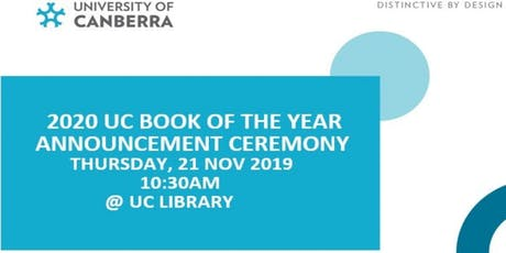 2020 UC Book of the Year tickets