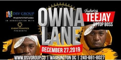 Teejay Uptop Boss - Owna Lane - Dec 27, 2019 tickets