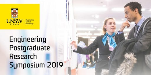 UNSW Engineering Postgraduate Research Symposium 2019